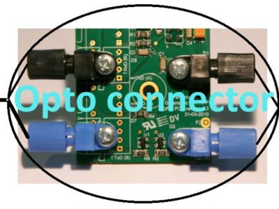 Greenspec opto connector for data communication